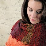 Reversible Pathway Shawl Purl